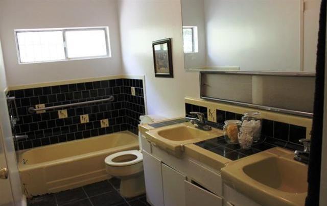 House Reveal: Guest Bathroom | the joy of design - Guest Bathroom Tile Accents