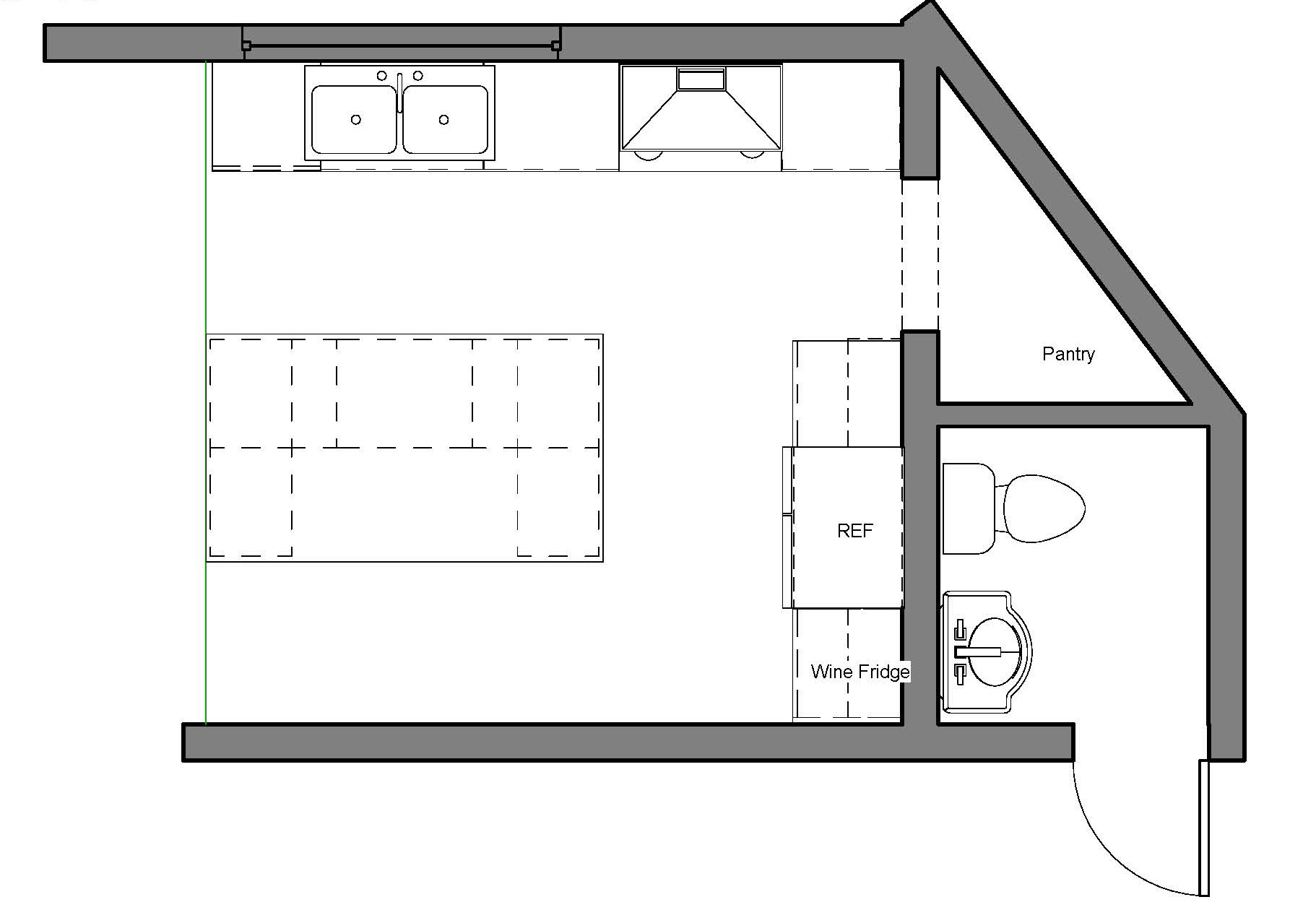 Final Kitchen Floor Plan