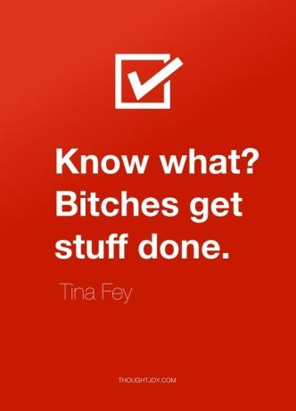 Tina Fey bitch quote