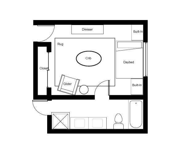 Nursery Floorplan