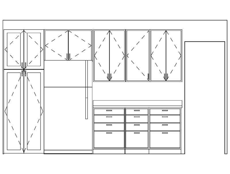 How To Build A Kitchen Pantry Cabinet Plans