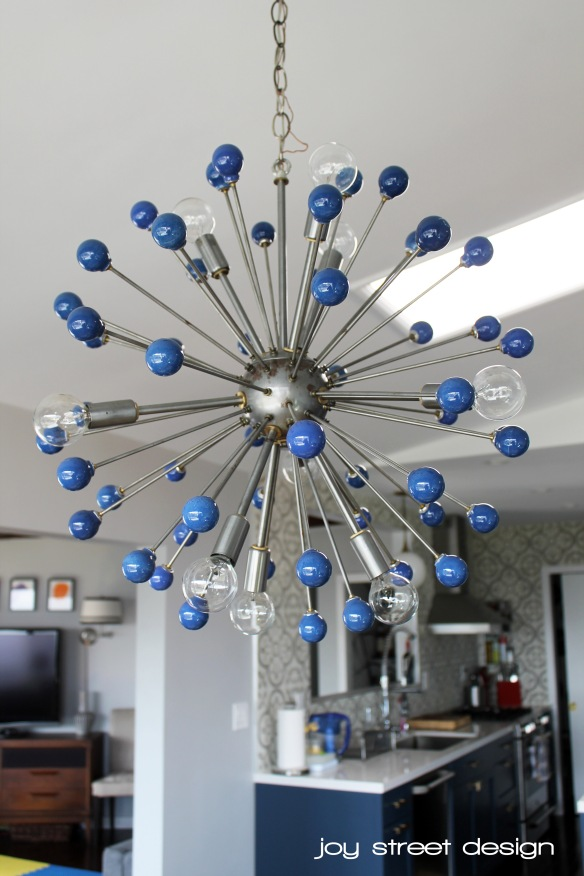 Chandelier - Joy Street Design - www.joystreetdesign.com