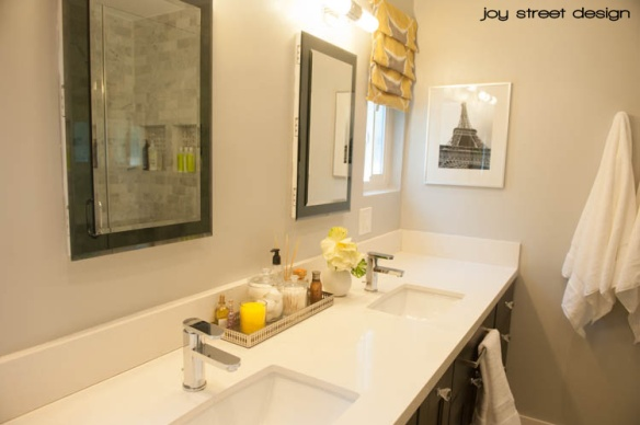 Bathroom Renovation - Joy Street Design - www.joystreetdesign.com